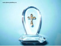Religiózny stojan s krížikom 070
