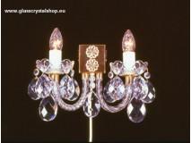 Krištáľové svietidlo nástenné 3003/2K-0505