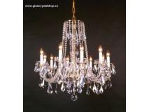 Krištáľové svietidlo stropné 36010-0516