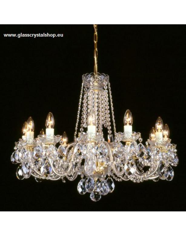 Krištáľové svietidlo stropné 36012-0505