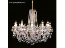 Krištáľové svietidlo stropné 36012-0505/A
