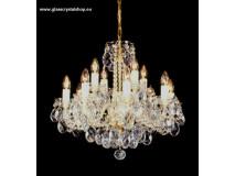 Krištáľové svietidlo stropné 35512J-0505/1