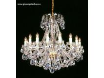 Krištáľové svietidlo stropné 36016K-0505