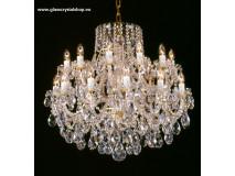 Krištáľové svietidlo stropné 35224K-0505