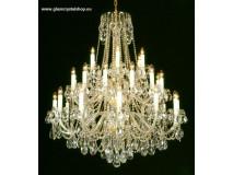 Krištáľové svietidlo stropné 37430P-0505/S
