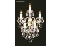 Krištáľové svietidlo nástenné 36805J-0505