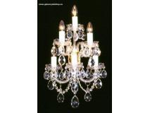 Krištáľové svietidlo nástenné 36806J-0505