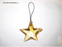 Hviezda 3927-crystal AMBER