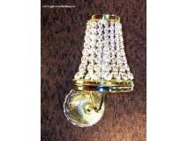 Krištáľové svietidlo nástenné 60501
