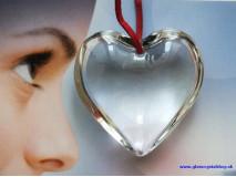 Srdce 1225CLEAR s dierkou