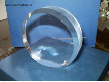 Puk sklenený - polotovar